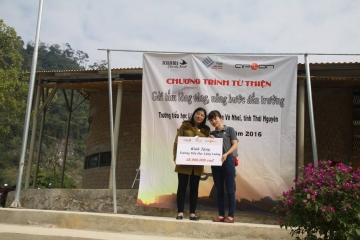 Send the heart of gold, raise the step to school of Thai Nguyen Province