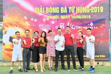Giải bóng đá tranh cúp Cúp Tứ Hùng 2019 tại Hà Nội